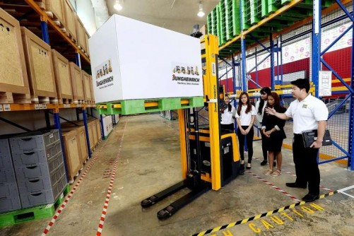 Innovation lab aims to help logistics firms make tech leap
