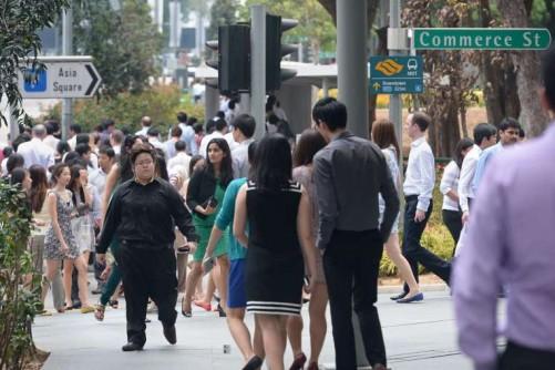 Tougher job market for new entrants