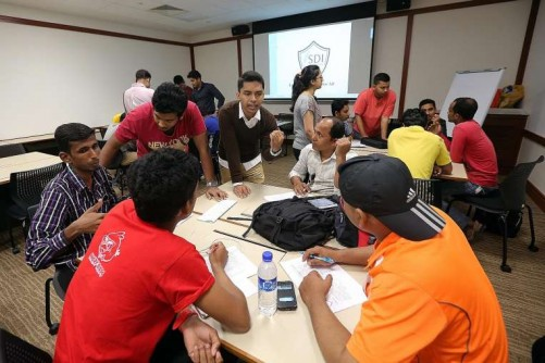 Youth on a mission to ease foreign workers' woes