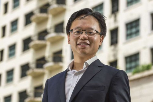 Ex-banker builds on father's property business