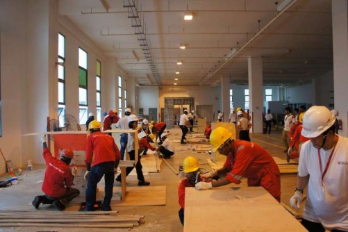 Straits Construction holds special week to promote productivity and innovation