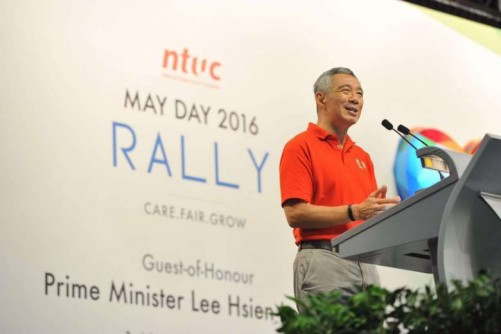 $200m boost for NTUC training fund for workers, PM Lee announces at May Day Rally