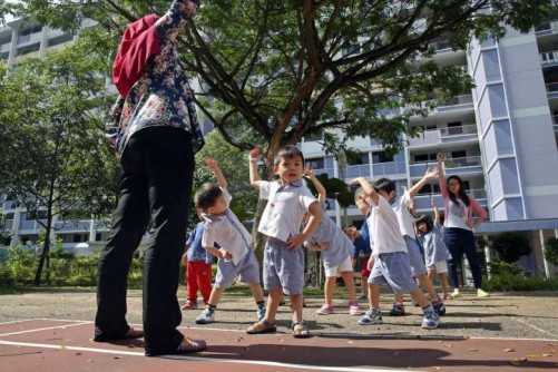 $1.7m set aside to help 138 pre-school teachers move up career ladder