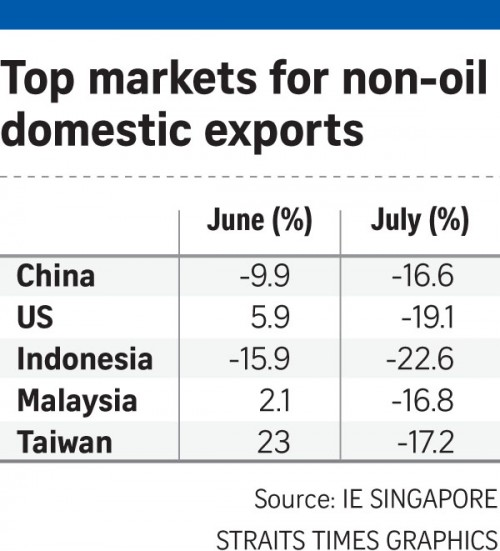 Plunging exports point to hard days ahead for economy