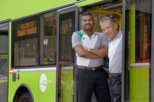 Tower Transit bus drivers going places in new roles