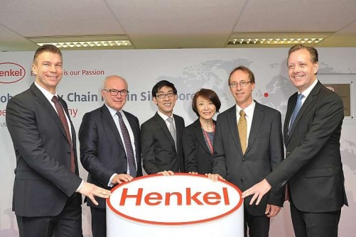 Henkel opens global supply chain hub in S'pore