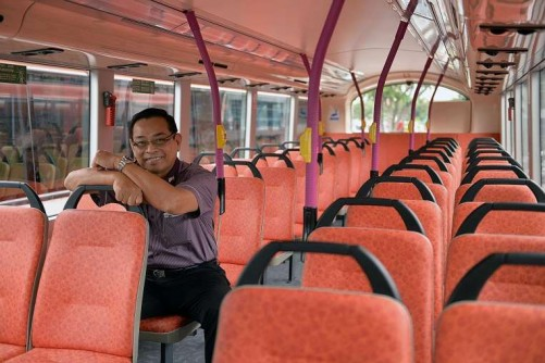 Age not a disadvantage for transport operator