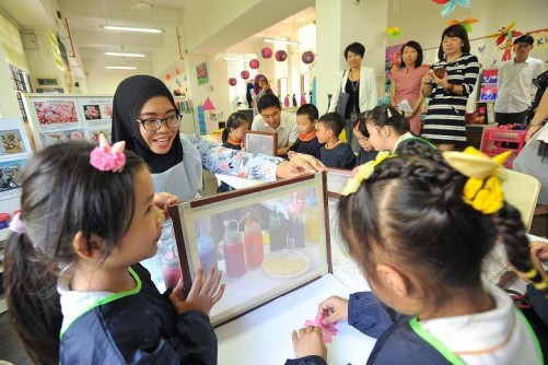 Pre-school teachers get chance to boost mother-tongue skills