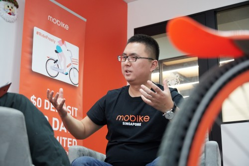 Mobike co-founder Joe Xia: The king of bike sharing