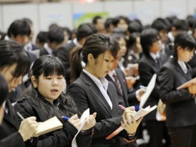 Japanese brokers' boost for grads