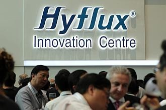 Hyflux opens global HQ in Bendemeer