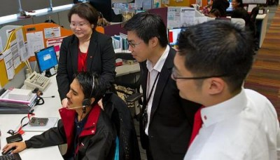 DBS call centre finds way to please customers