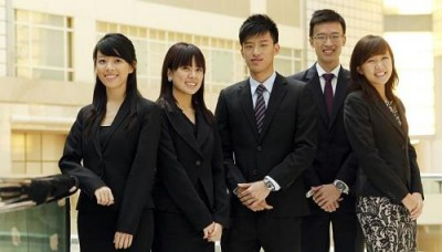 Students help firms do business in a better way