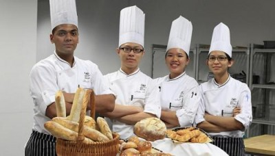 ITE student-chefs go to class, in France