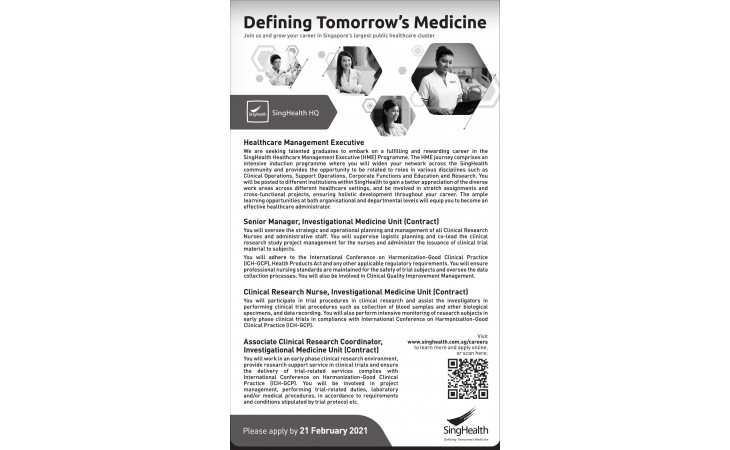 Defining Tomorrow's Medicine