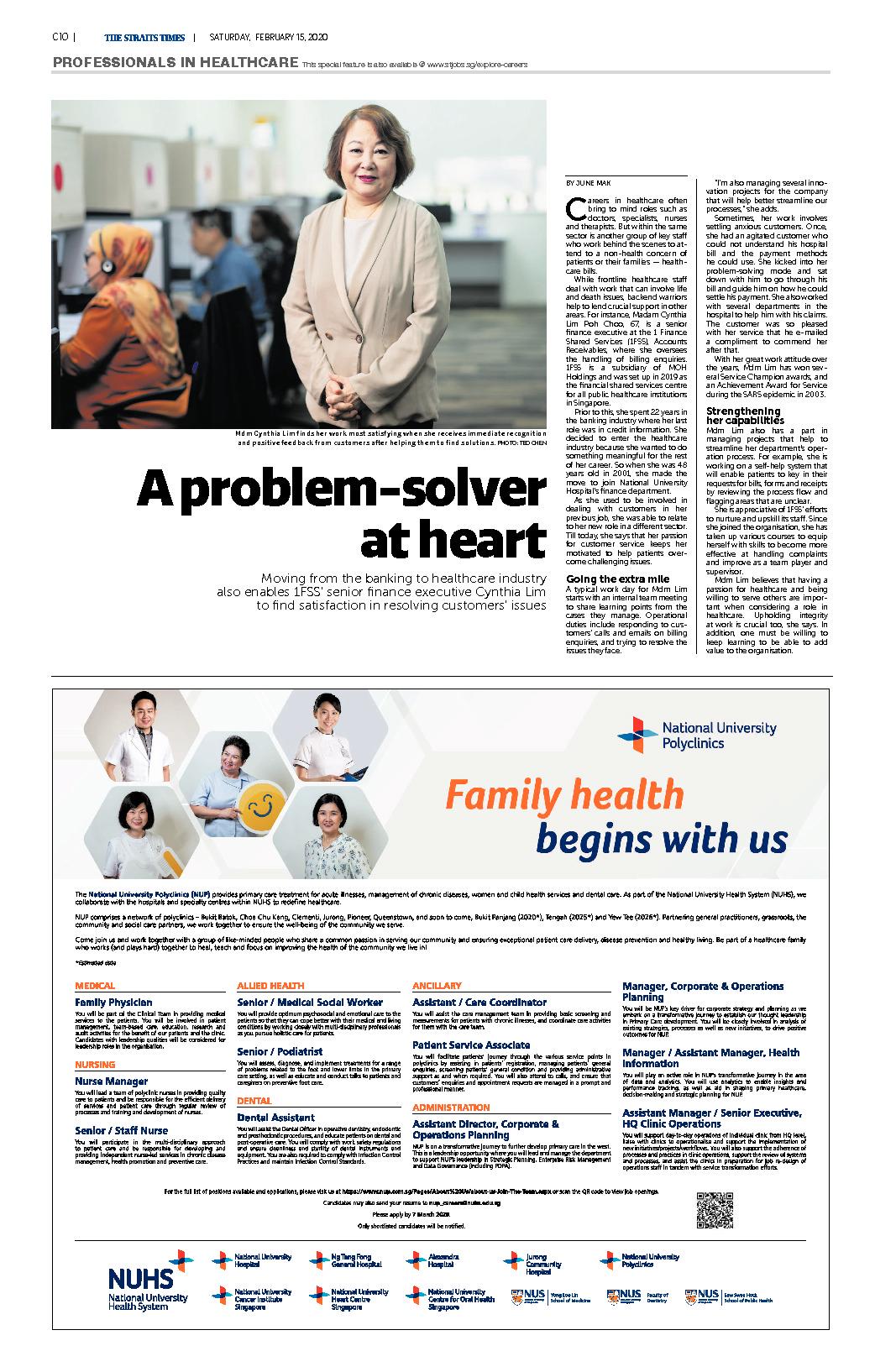 A problem-solver at heart