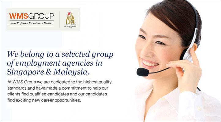 Target Recruitment Pte Ltd, a member of WMS Group